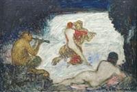 nike wird von einem zentaur entführt by adolf frey-moock