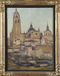 la cathédrale de ségovie by pierre paulus