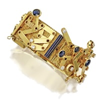 a bangle-bracelet by giorgio facchini