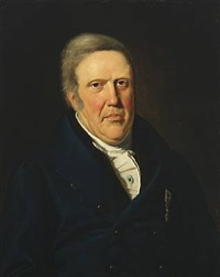 portrait of johan rubring harboe (1762-1840) by david monies