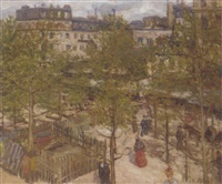 au jardin à paris by georges barwolf