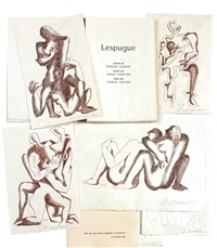 lespugue (bk w/6 works) by ossip zadkine