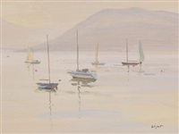 sailing boats by norman edgar