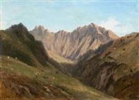 vue des alpes by elisabeth fort-siméon