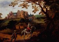 le retour de la chasse by willem van den bundel