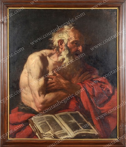 saint jérôme by johann karl loth