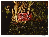 untitled (confederate flag), tennessee by william eggleston
