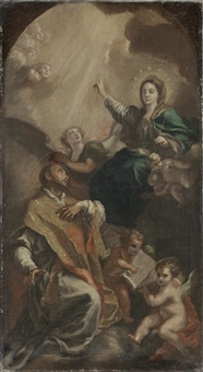 the vision of saint ignatius loyola by domenico mondo