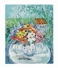 vase en plein air by yolande ardissone