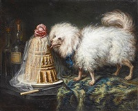 the bichon's birthday by raymond alary