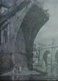 banistas bajo el puente by oleg grosse