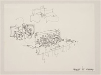 untitled (ville de rennes) by frank gehry