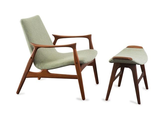 Sessel 240 Mit Fusshocker By Arne Hovmand Olsen On Artnet