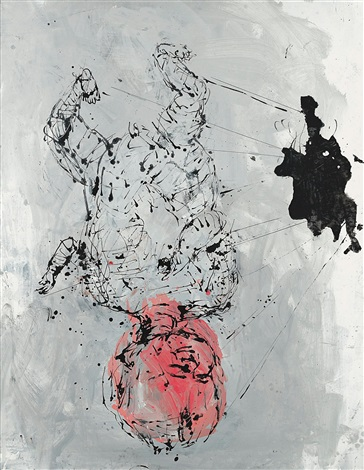 teolie by georg baselitz