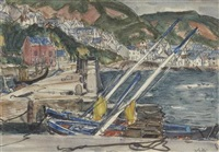 gardenstown, banffshire by william george gillies