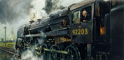 the black prince by terence cuneo