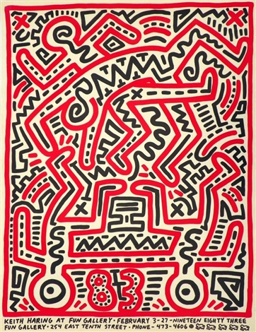 fun gallery by keith haring