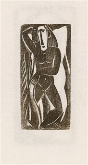 woodcuts and linoleum blocks by max weber
