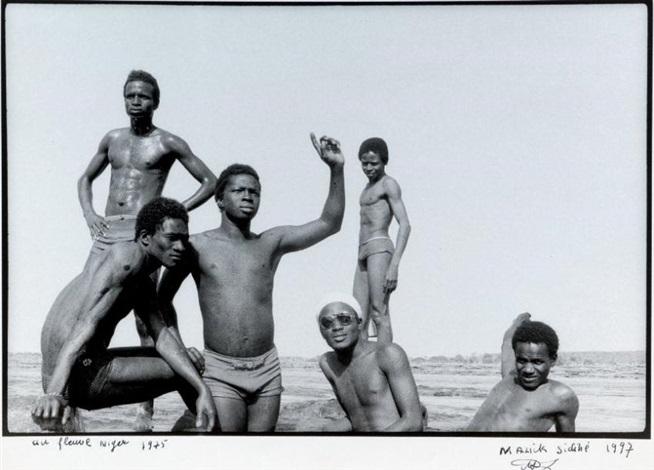 au fleuve niger by malick sidibé