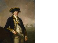 captain charles morice pole by john francis rigaud