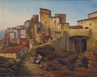 view on cervara by jacob jacobson