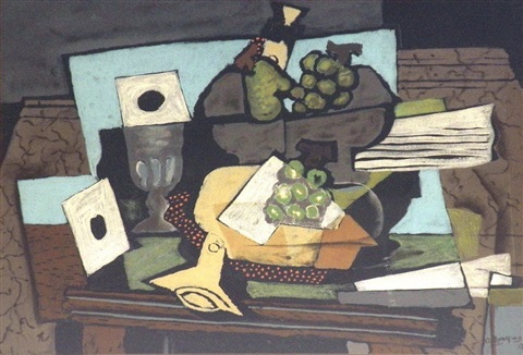 untitled by georges braque