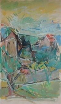 le village cubiste by serge fotinsky