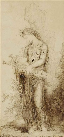 orphée by gustave moreau