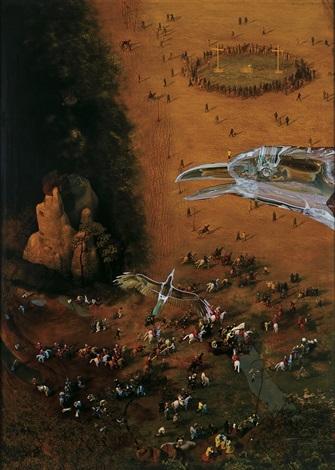 carrying the cross by miao xiaochun