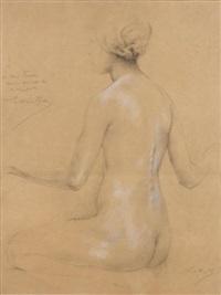etude de nu pour une chanteuse (study) by luc olivier merson