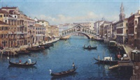 the grand canal, venice by mona kendam