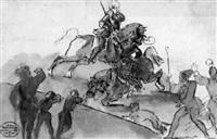 ein reiterturnier by christian wilhelm von faber du faur