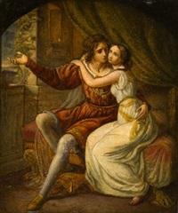 abschied romeos von julia by ferdinand-theodor hildebrandt