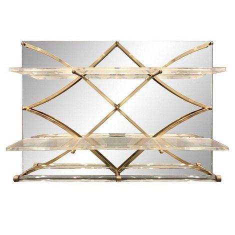 Treillage Mirrored Wall Shelf By Charles Hollis Jones On Artnet