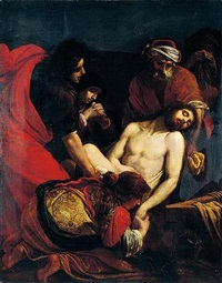 the entombment by orazio fidani