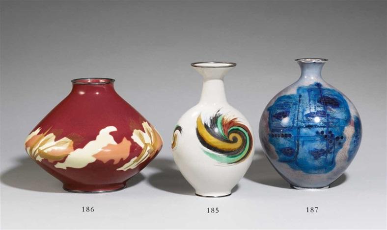 Vase By Ando Cloisonne Co On Artnet