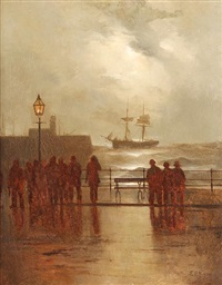 after the storm, the north sea by elmer keene