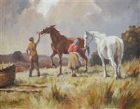feeding the horses by donal mcnaughton