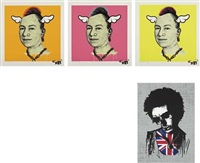more punk than you punk (+ 3 others; 4 works) by d*face and paul insect