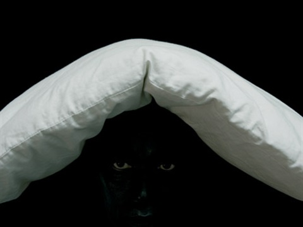 white pillow by rené peña