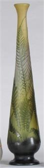 grand vase soliflore by émile gallé
