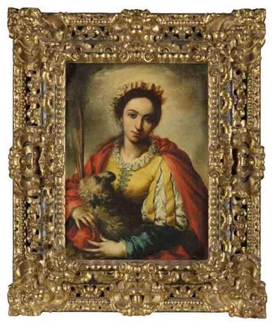 saint agnes by clemente de torres
