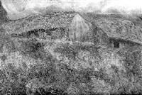 cabaña en la montaña al atardecer by nicolas raurich y petre
