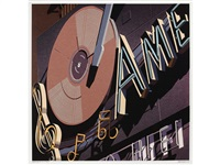american hi fi (from american signs) by robert cottingham