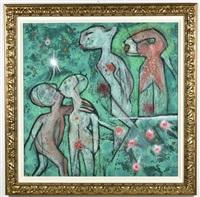etoile des jardins, 1995 by roberto matta
