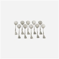 phagocyte spoons (set of 10) by claude lalanne