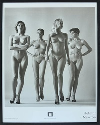 they are coming by helmut newton