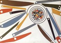 tutti i popoli uniti per la pace (progetto per uno stendardo) by michelangelo conte