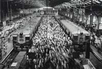 churchgate station, india by sebastião salgado