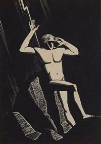 prometheus (burne-jones 78) by rockwell kent